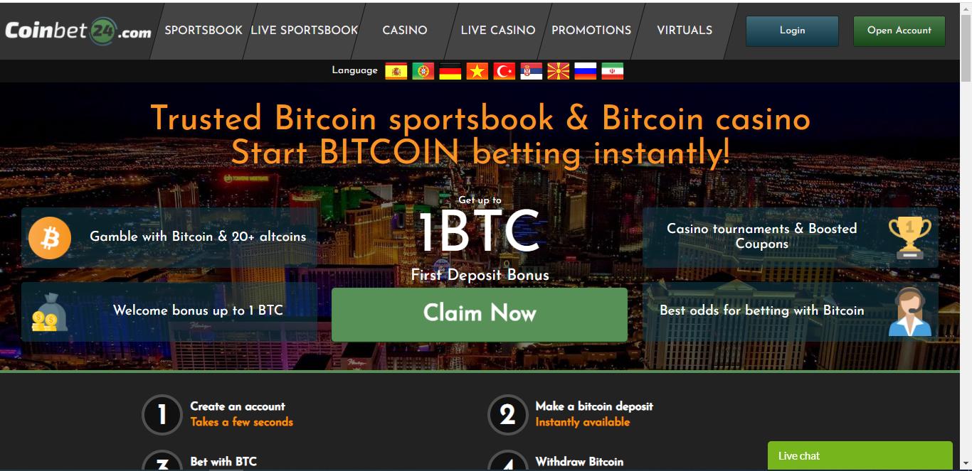 Coinbet24 casino review