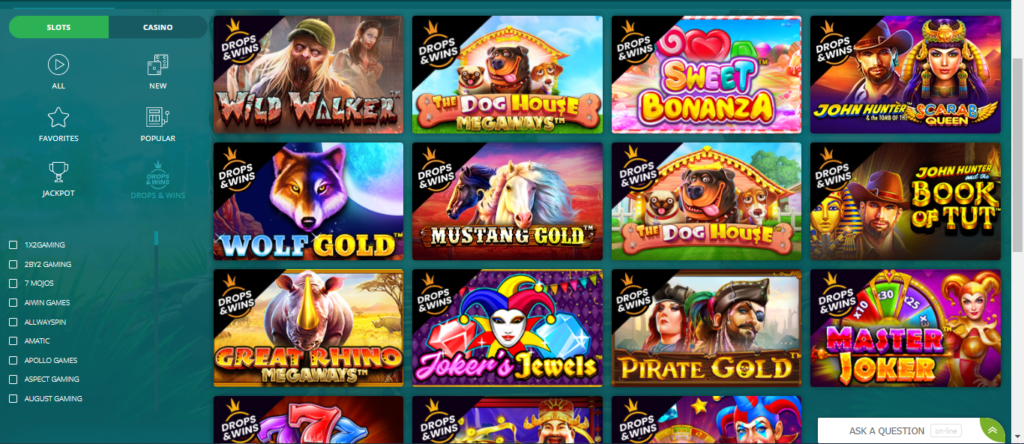 Drops & Wins Slots