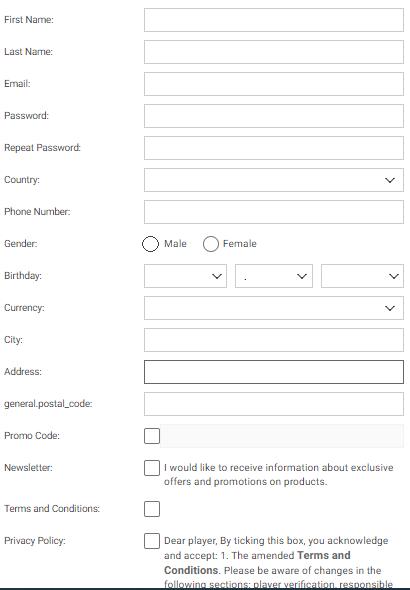 Meridianbet Registration