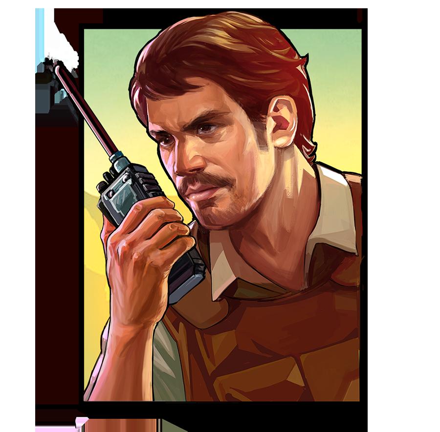 Agent Javier Pena -Narcos slot game