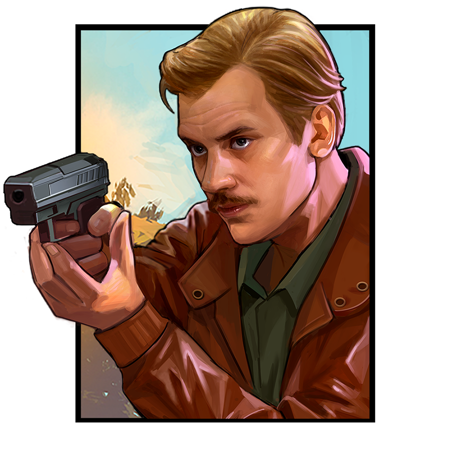 Agent Steve Murphy Narcos slot game