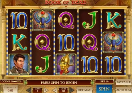Book of Dead Slot Game by Play'n GO