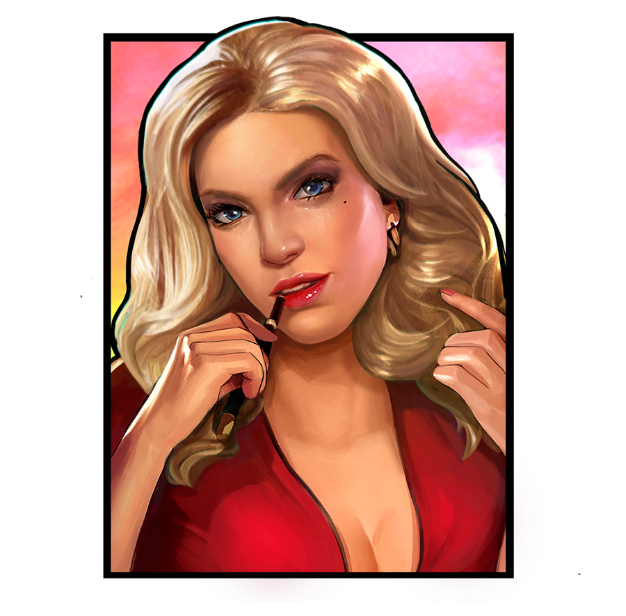 Connie Murphy Narcos slot game
