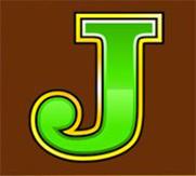 Mega Moolah J symbol