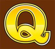 Mega Moolah Q symbol