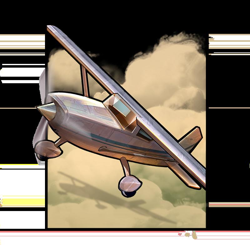 Plane Symbol Narcos slot game