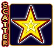 Scatter symbol in 20 super hot slot