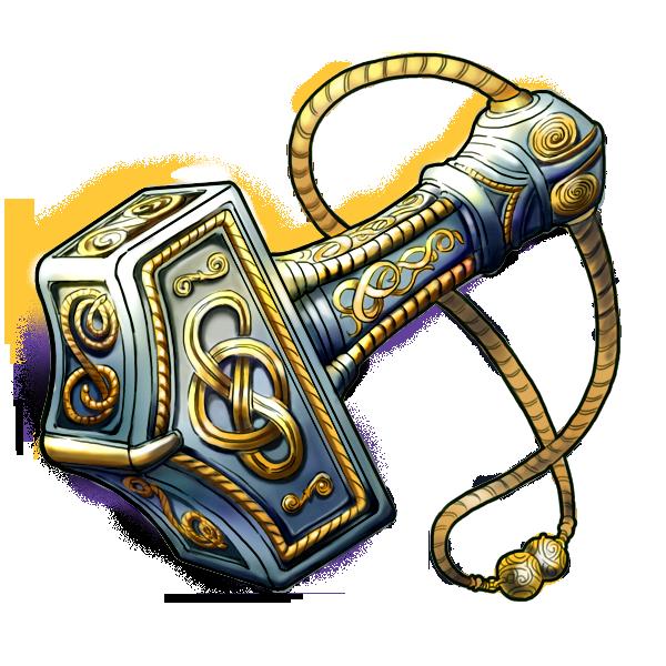 Thor's hammer symbol