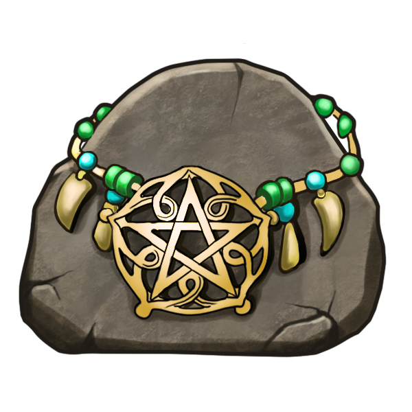 Hall of Gods Necklace symbol