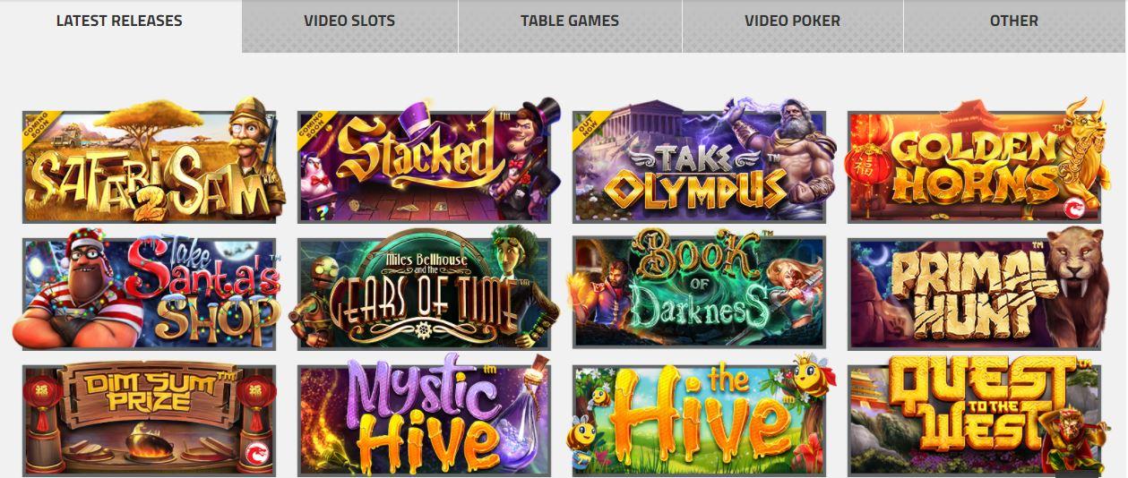 Betsoft gaming slot games