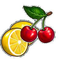 Fruit symbols burning hot