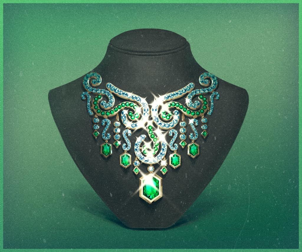 Hotline slot game Necklace symbol