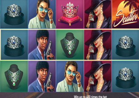 Hotline slot game by NetEnt