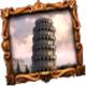 Leaning Tower of Pisa symbol