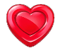 Red Heart Candy symbol