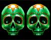 Green Skull Symbol