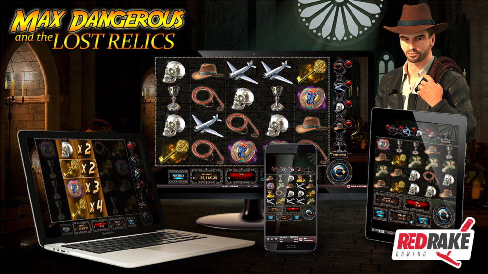 Red Rake Gaming releases Max Dangerous and the Lost Relics