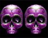Purple Skull symbol