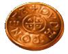 Vikings go Berzerk Bronze coin symbol
