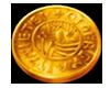 Vikings go Berzerk Gold coin symbol