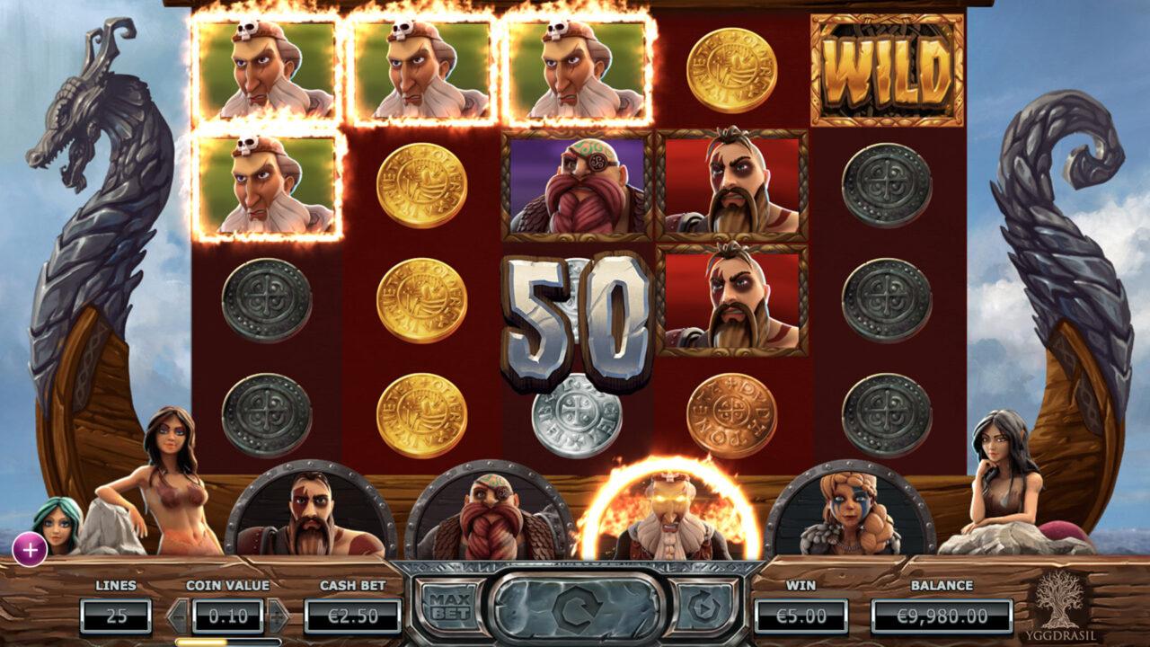Vikings Go Berzerk Rage Bonus