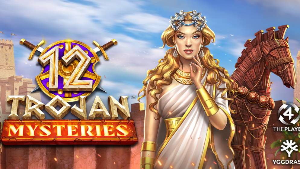 12 Trojan Mysteries by 4ThePlayer is unleashed across the Yggdrasil network