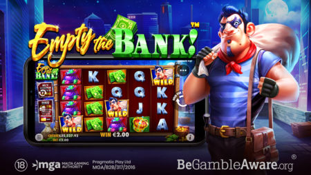 PRAGMATIC PLAY MAPS OUT THE PERFECT GETAWAY IN EMPTY THE BANK™