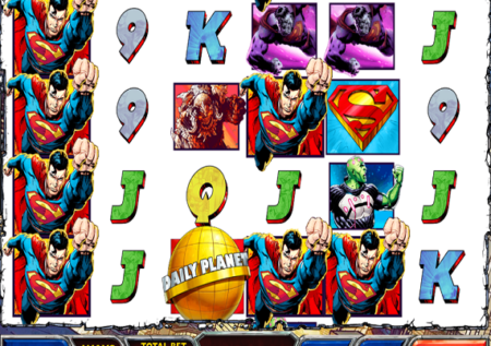 Superman Comic Slot Review