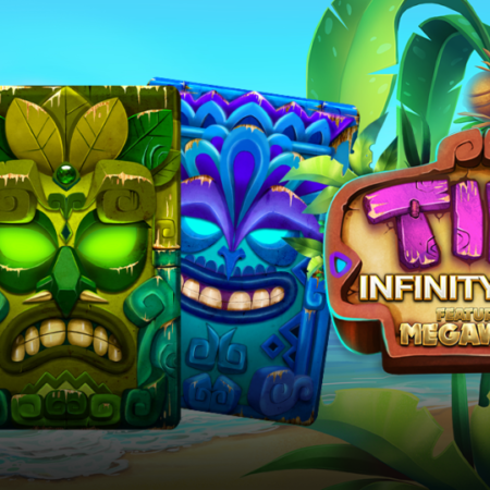 Yggdrasil and ReelPlay combine for an unforgettable island adventure in Tiki Infinity Reels Megaways™