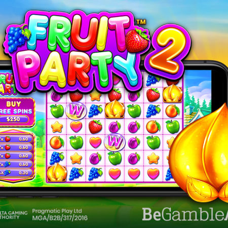 PRAGMATIC PLAY BACK WITH JUICIER WINS THAN EVER IN FRUIT PARTY 2