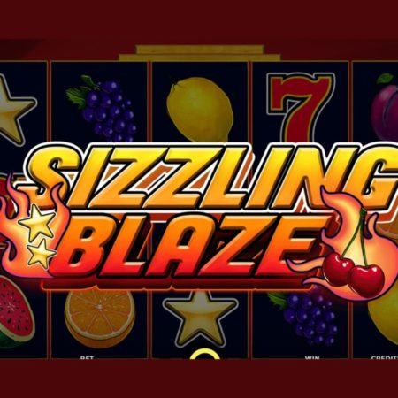 """Spinmatic Presents """"Sizzling Blaze"""" Slot Game"""
