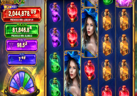 Sisters of Oz WowPot Slot Review