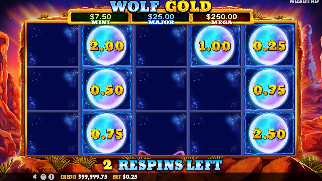 Wolf gold respin
